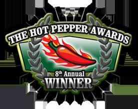 Hot Pepper Award Winner
