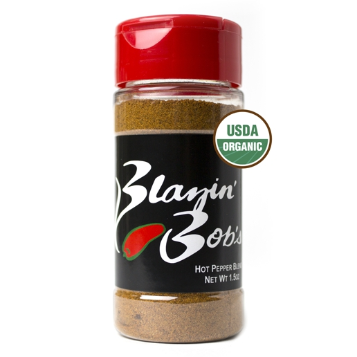 Blazin' Bob's Hot Pepper blend with Hickory Smoke